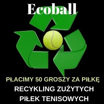 Ecoball - recykling piłek tenisowych